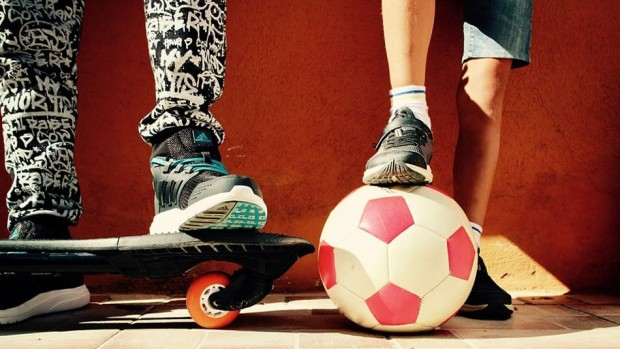 Игры с мячом улучшают здоровье костей школьников