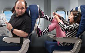 Дети кричат в самолете. Что вам делать?