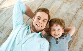 Игры отцов с детьми укрепляют семейные отношения