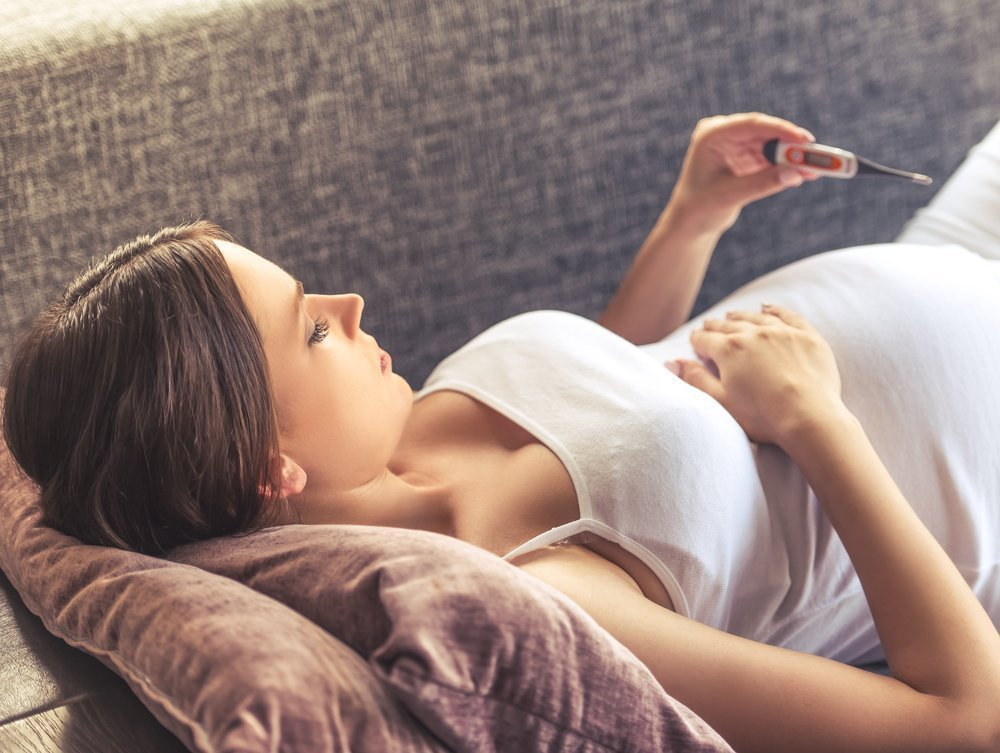 Жар во время беременность грозит тяжелыми дефектами рубенку