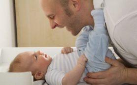 После рождения ребенка отцы худеют!