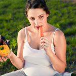 Рацион беременной может повлиять на дату родов