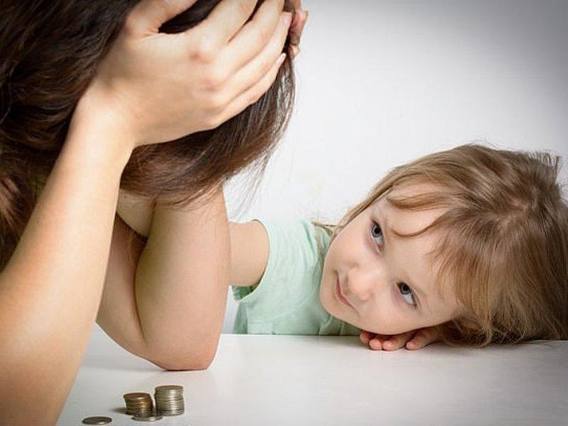 Дети делают счастливыми родителей только при наличии денег