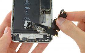 Замена нижнего шлейфа на iPhone 4