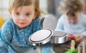 Игрушки с пуговичными батарейками смертельно опасны для детей