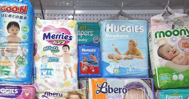 Памперсы для новорожденных – виды и лучшие марки подгузников