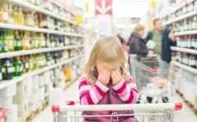 Как погасить детскую истерику в магазине?