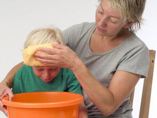 Малыш что-то съел. Первая помощь при отравлении