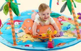 С какого возраста нужен развивающий коврик для ребенка и какой лучше выбрать?