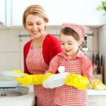 Обязанности по дому, с которыми справится ребенок